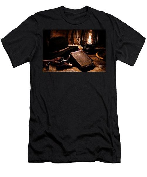 Cowboy Bible Men's T-Shirt (Athletic Fit)