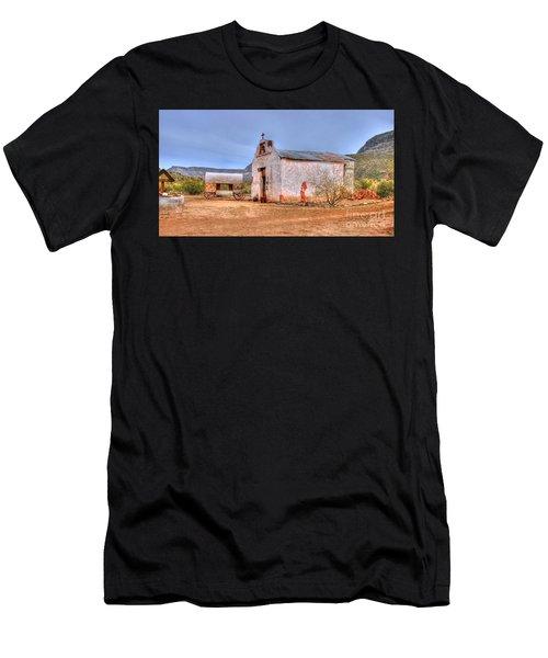 Cowboy Church Men's T-Shirt (Athletic Fit)
