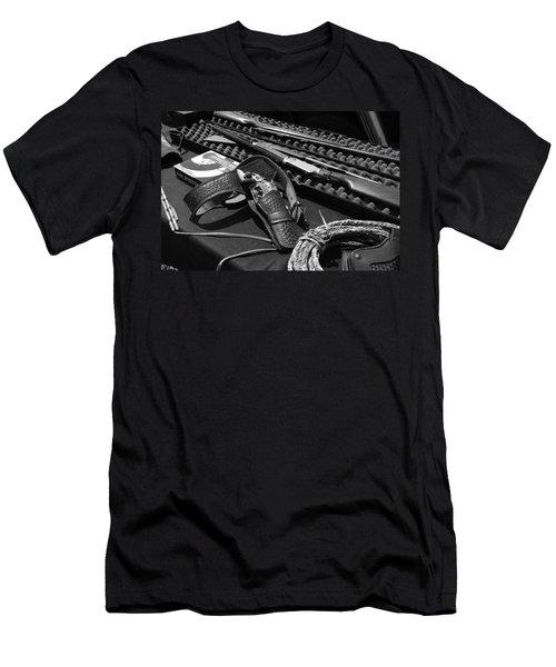 Cowboy Up Men's T-Shirt (Athletic Fit)