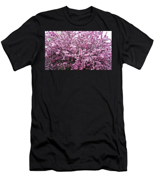 Crab Apple Tree Men's T-Shirt (Athletic Fit)