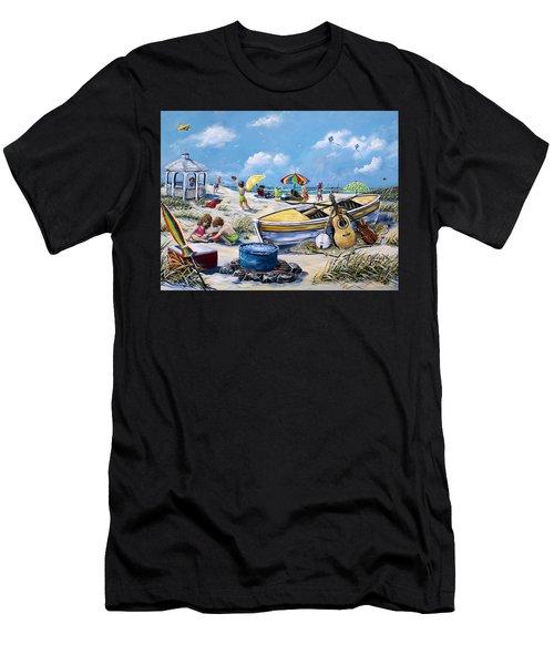 Crab Pickin Men's T-Shirt (Athletic Fit)