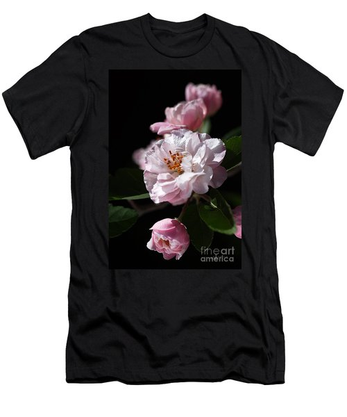 Crabapple Flowers Men's T-Shirt (Athletic Fit)