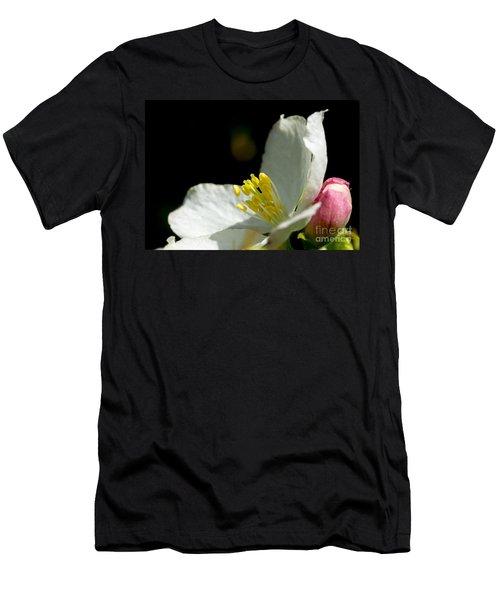 Crabapple White Men's T-Shirt (Athletic Fit)