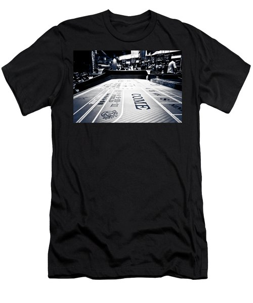 Craps Table In Las Vegas Men's T-Shirt (Athletic Fit)