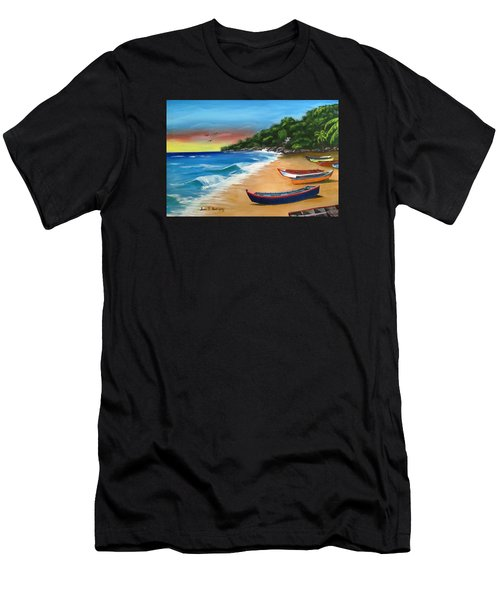 Crashboat Beach Wonder Men's T-Shirt (Athletic Fit)