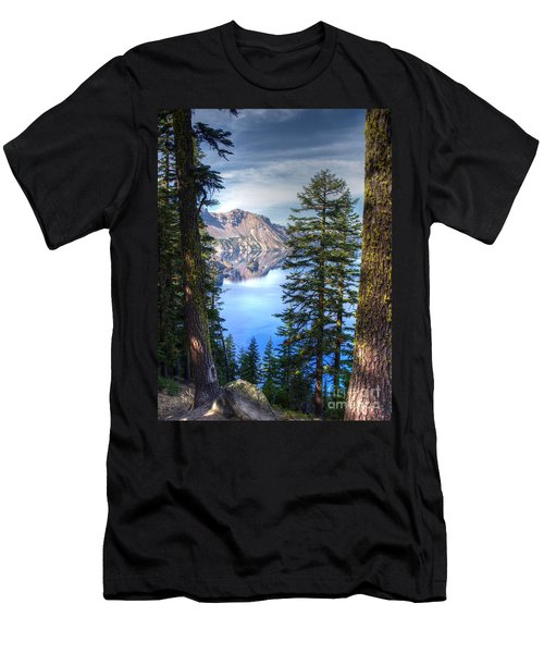 Crater Lake 1 Men's T-Shirt (Athletic Fit)