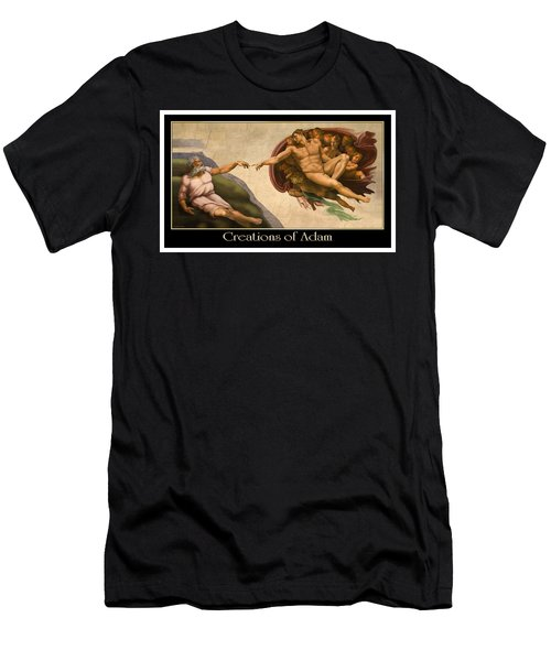 Creations Of Adam Men's T-Shirt (Athletic Fit)