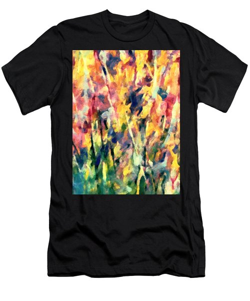 Crescendo Of Spring Abstract Men's T-Shirt (Athletic Fit)