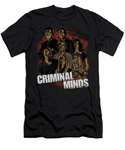 Criminal Minds - Solution Lies Within Men's T-Shirt (Athletic Fit)