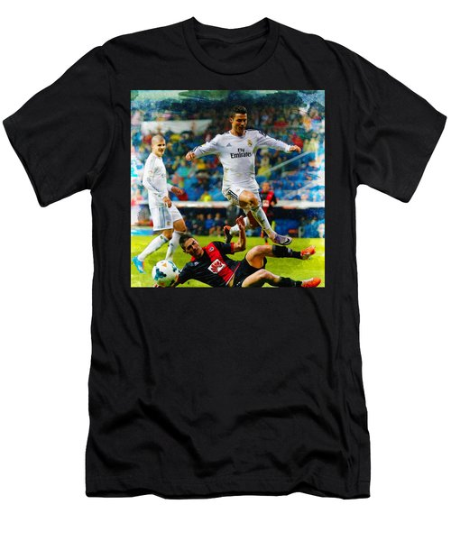 Cristiano Ronaldo Men's T-Shirt (Athletic Fit)
