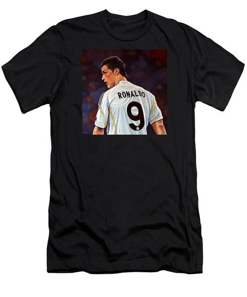 Cristiano Ronaldo Men's T-Shirt (Slim Fit) by Paul Meijering