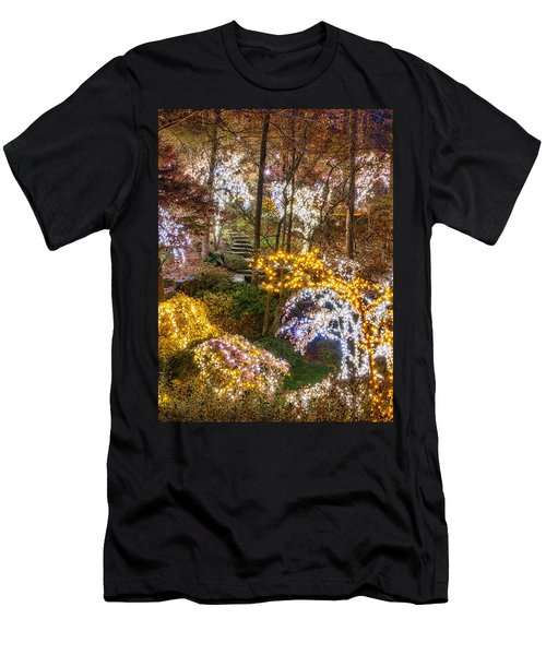 Golden Valley - Crop Men's T-Shirt (Athletic Fit)