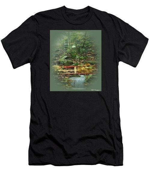 A Bridge To Cross Men's T-Shirt (Athletic Fit)