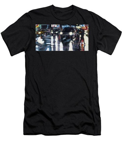 Crossed Men's T-Shirt (Athletic Fit)
