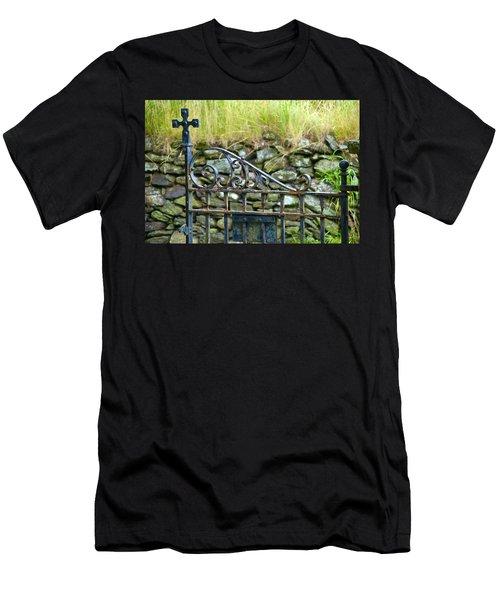 Crossing Gate Men's T-Shirt (Athletic Fit)