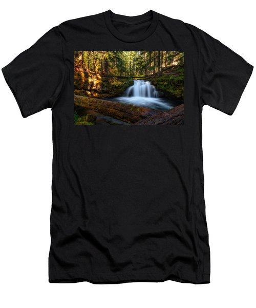 Crossings Men's T-Shirt (Slim Fit) by James Heckt