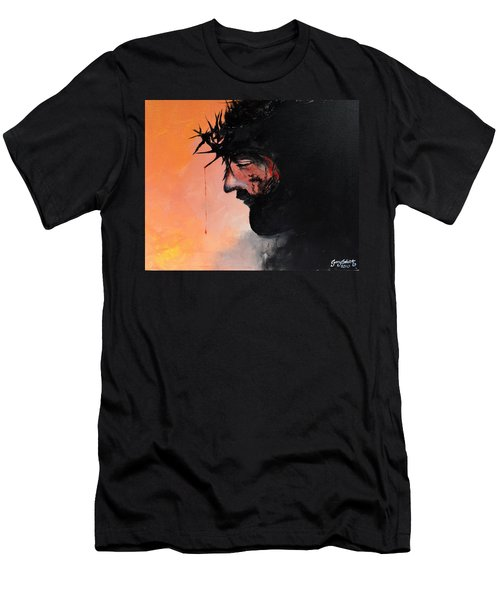 Blood Of The Redeemer Men's T-Shirt (Slim Fit) by Gary Smith