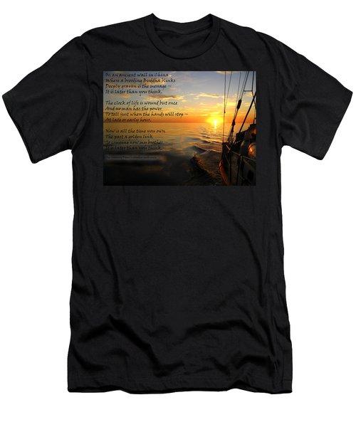 Cruising Poem Men's T-Shirt (Athletic Fit)
