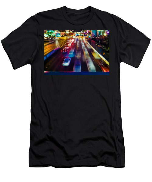 Cruising The Strip Men's T-Shirt (Athletic Fit)