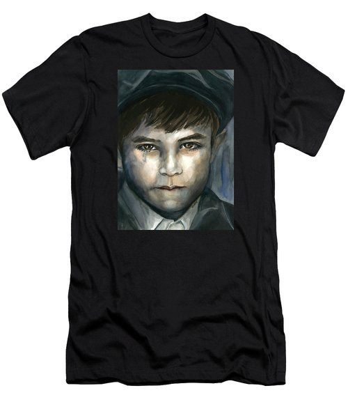 Crying In The Shadows Men's T-Shirt (Athletic Fit)