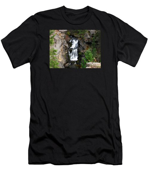 Crystal Falls Men's T-Shirt (Athletic Fit)