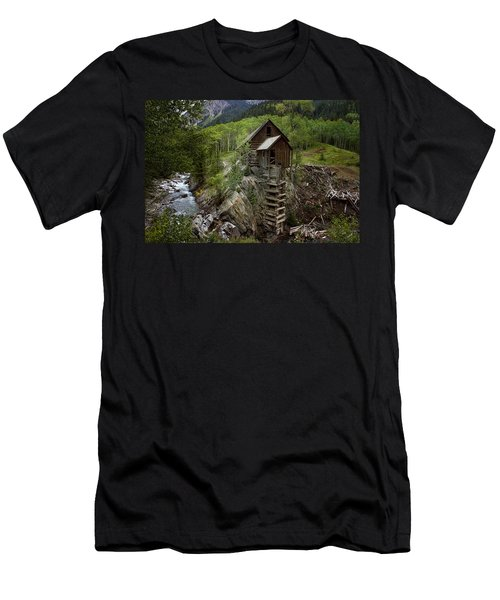Crystal Mill Men's T-Shirt (Athletic Fit)