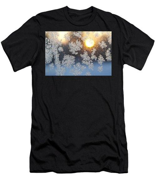 Crystal Sunrise Men's T-Shirt (Athletic Fit)