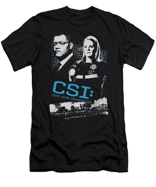 Csi - Investigate This Men's T-Shirt (Athletic Fit)