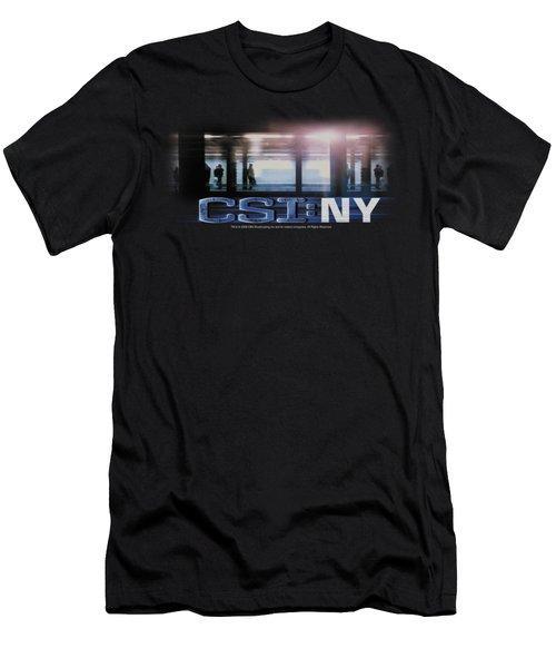 Csi - New York Subway Men's T-Shirt (Athletic Fit)