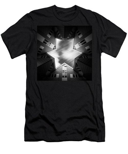 Cubic Star Men's T-Shirt (Athletic Fit)