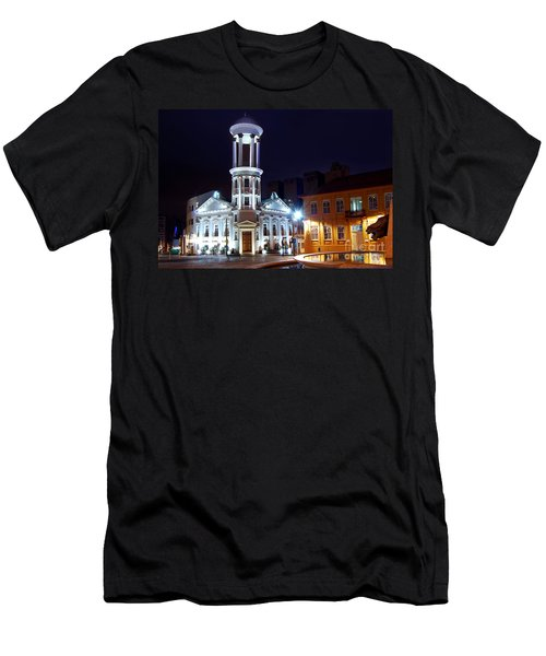 Curitiba - Centro Historico Men's T-Shirt (Athletic Fit)