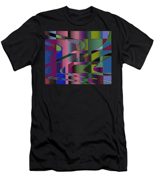 Curves And Trapezoids 3 Men's T-Shirt (Athletic Fit)
