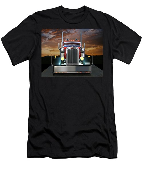 Custom Peterbilt Men's T-Shirt (Athletic Fit)