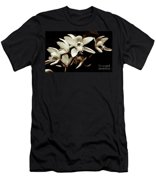 Cymbidium Orchids Men's T-Shirt (Athletic Fit)