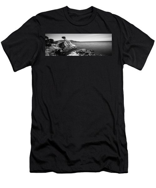 Cypress Tree At The Coast, The Lone Men's T-Shirt (Athletic Fit)