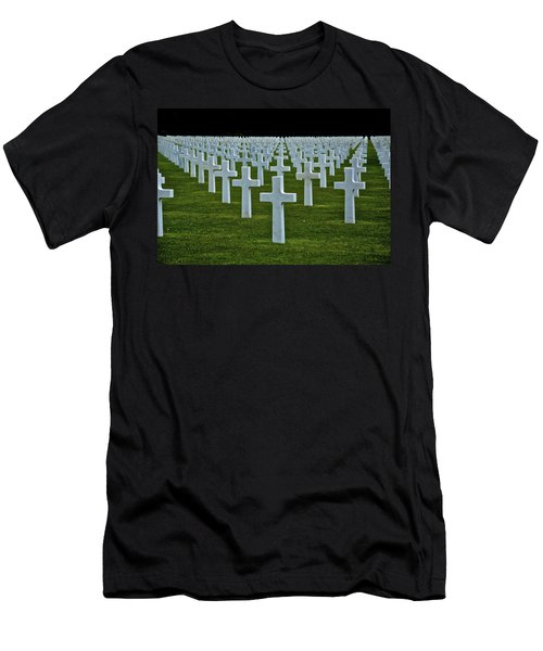 D-day's Price Men's T-Shirt (Slim Fit) by Eric Tressler