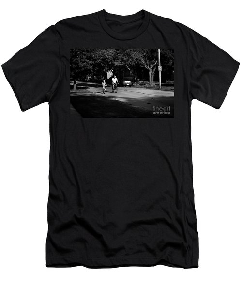 Daddy's Shadow Men's T-Shirt (Athletic Fit)