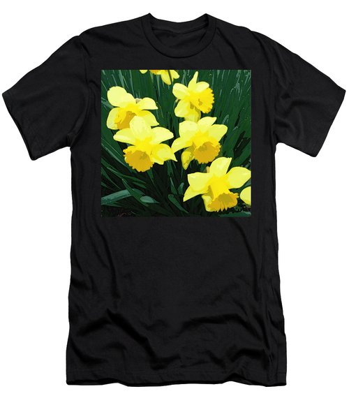 Daffodil Song Men's T-Shirt (Athletic Fit)