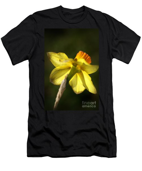 Men's T-Shirt (Slim Fit) featuring the photograph Daffodils Grace by Joy Watson