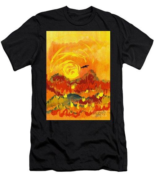 D'agony Men's T-Shirt (Athletic Fit)