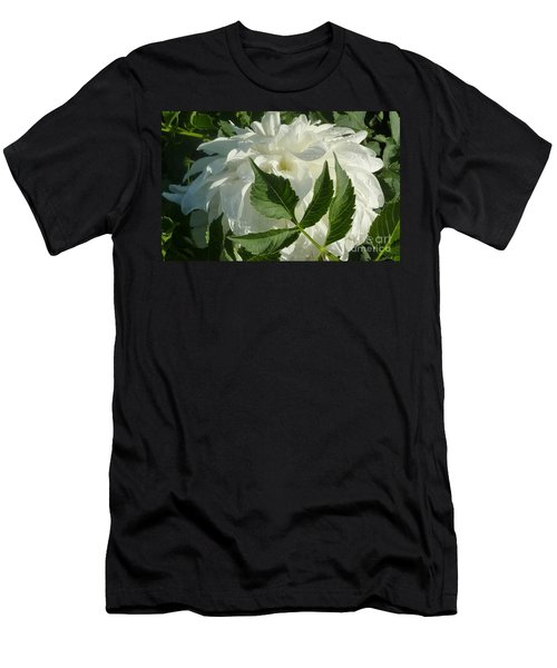 Dahlia Delicate Dancer Men's T-Shirt (Slim Fit) by Susan Garren