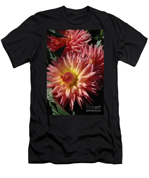 Men's T-Shirt (Slim Fit) featuring the photograph Dahlia Viii by Christiane Hellner-OBrien