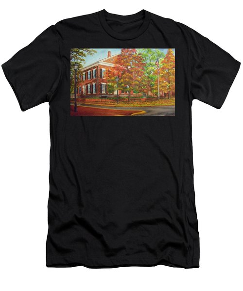 Dahlonega's Gold Museum In Autumn Men's T-Shirt (Athletic Fit)