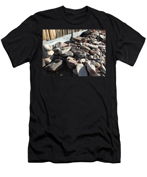 Men's T-Shirt (Slim Fit) featuring the photograph Daily Grind by Natalie Ortiz