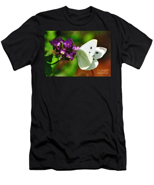 Dainty Butterfly Men's T-Shirt (Athletic Fit)