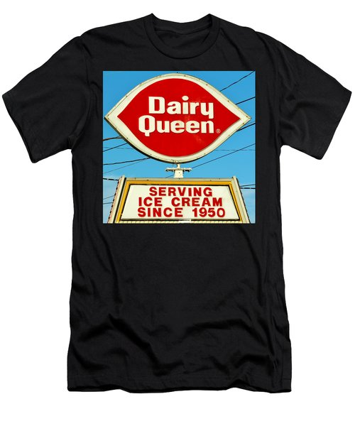 Dairy Queen Sign Men's T-Shirt (Athletic Fit)
