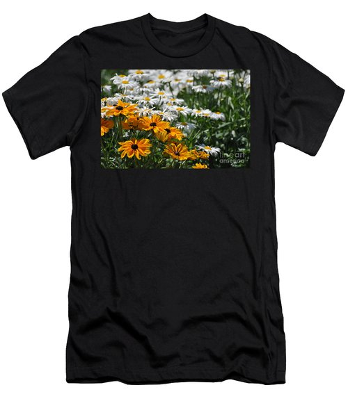 Daisy Fields Men's T-Shirt (Athletic Fit)