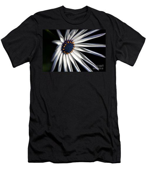 Men's T-Shirt (Slim Fit) featuring the photograph Daisy Heart by Joy Watson