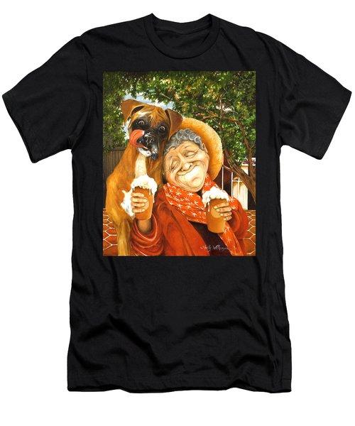 Daisy's Mocha Latte Men's T-Shirt (Athletic Fit)