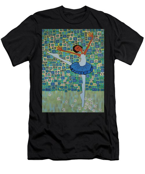 Daizies' Ballet Men's T-Shirt (Athletic Fit)
